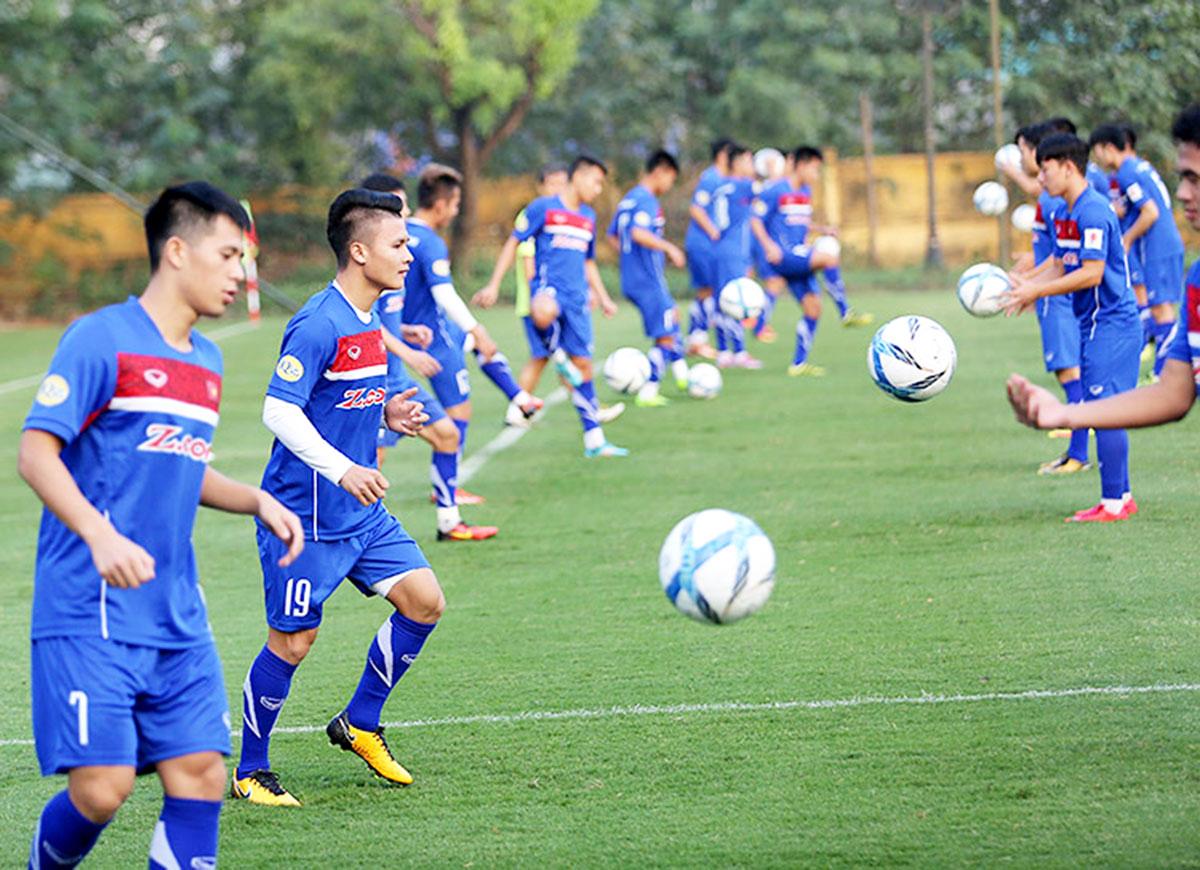 U23 Việt Nam tập trung chuẩn bị cho vòng chung kết U23 châu Á