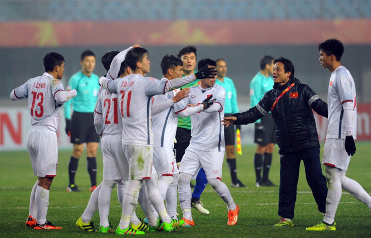 Niềm vui của U23 Việt Nam sẽ tiếp tục được kéo dài? Ảnh: zing