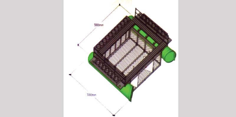 Thiết kế ban đầu hệ thống thu gom rác thải cho TP Cần Thơ. Ảnh: TUYẾT TRINH