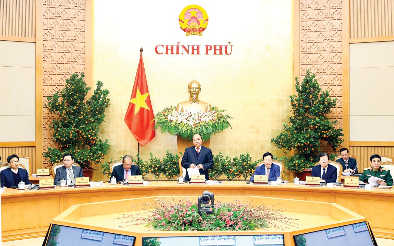 Thủ tướng Nguyễn Xuân Phúc phát biểu chỉ đạo. Ảnh: THỐNG NHẤT (TTXVN)