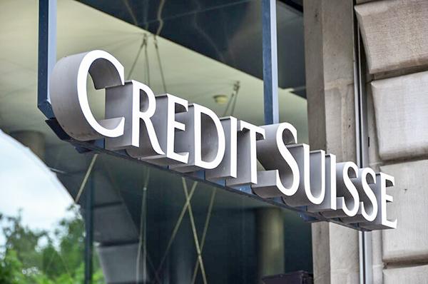 Ngân hàng Credit Suisse của Thụy Sĩ.