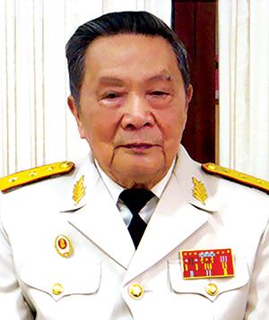 Thượng tướng Trần Văn Quang.