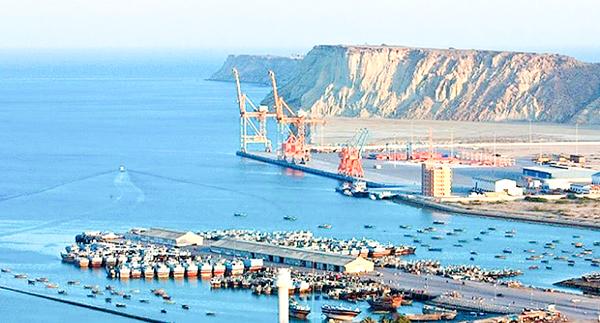Cảng Gwadar (Pakistan), nơi Trung Quốc bỏ ra phần lớn vốn đầu tư phát triển. Ảnh: AFP