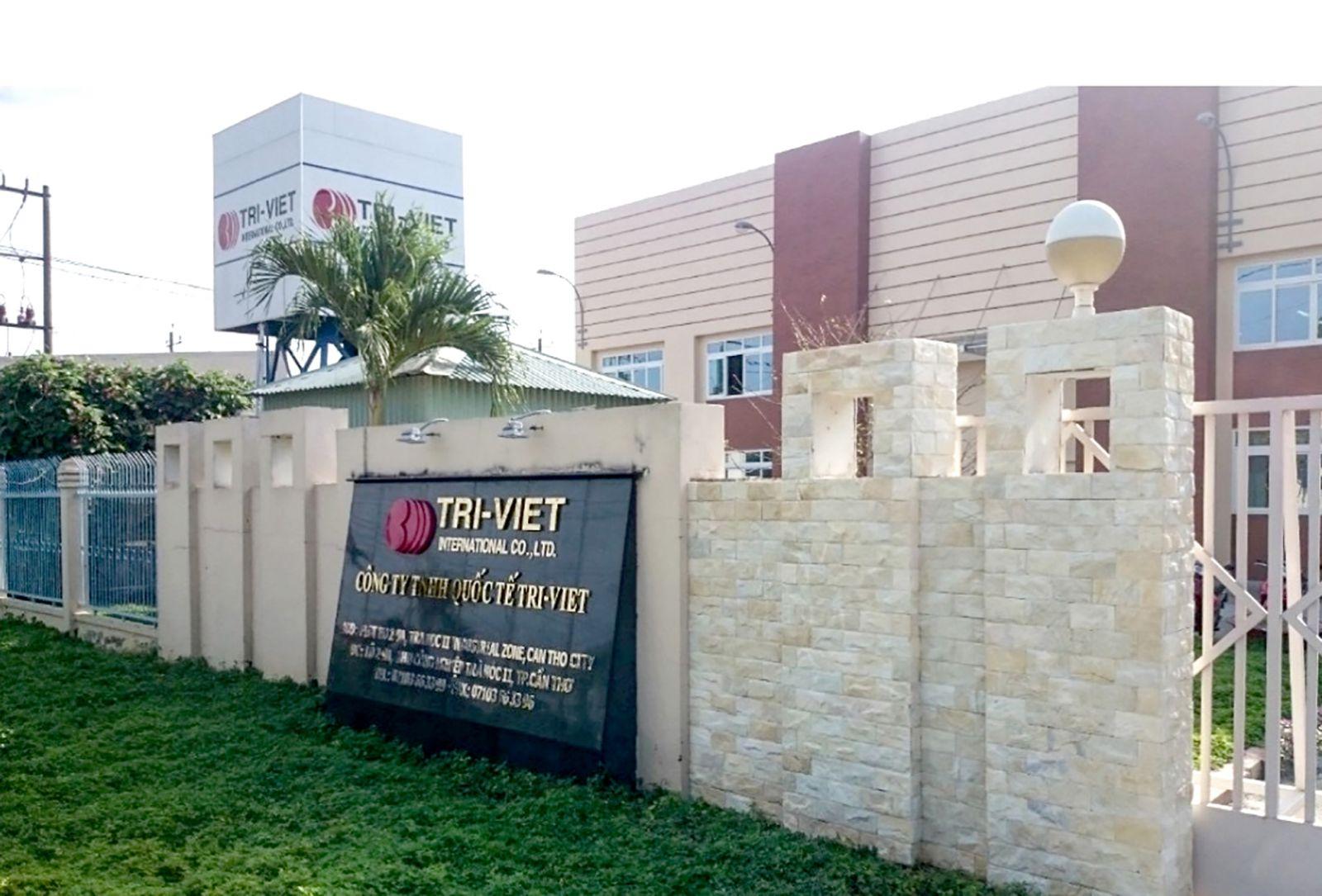 Công ty TNHH Quốc tế Tri-Viet, nhà đầu tư Nhật Bản hoạt động hiệu quả tại TP Cần Thơ. Ảnh: KHÁNH NAM