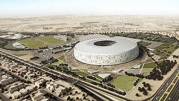 Sân vận động chính World Cup 2022 của Qatar. Ảnh: ESPN