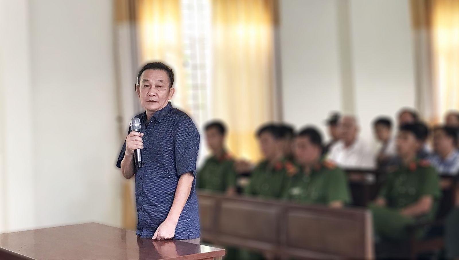 Bị cáo Nguyễn Hoàng Năm trả lời thẩm vấn HĐXX. Ảnh: KIỀU CHINH