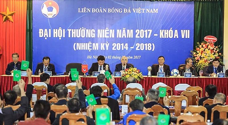 Một kỳ đại hội thường niên của VFF. Ảnh: laodong