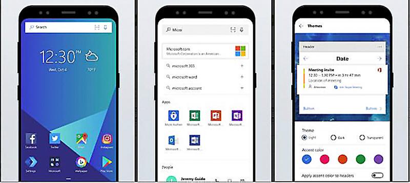 """Microsoft tìm hướng đi mới ở các ứng dụng mang """"hơi hướng"""" Windows cho điện thoại thông minh chạy hệ điều hành khác."""