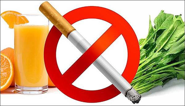 Người cai thuốc lá cần bổ sung nhiều loại rau họ cải và thực phẩm cung cấp vitamin C để tăng cường sức khỏe. Ảnh: Daily Post India
