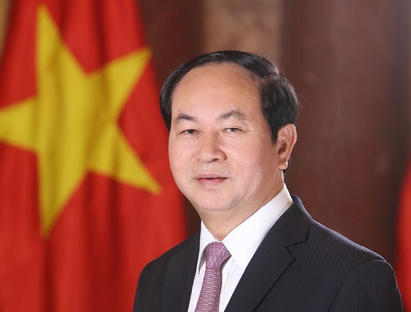 Chủ tịch nước Trần Đại Quang. Ảnh: TTXVN