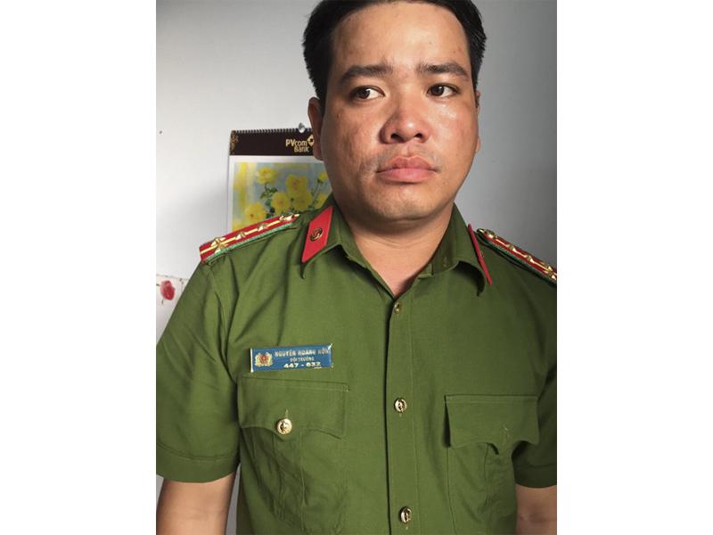 Đối tượng Nguyễn Hoàng Hôn.