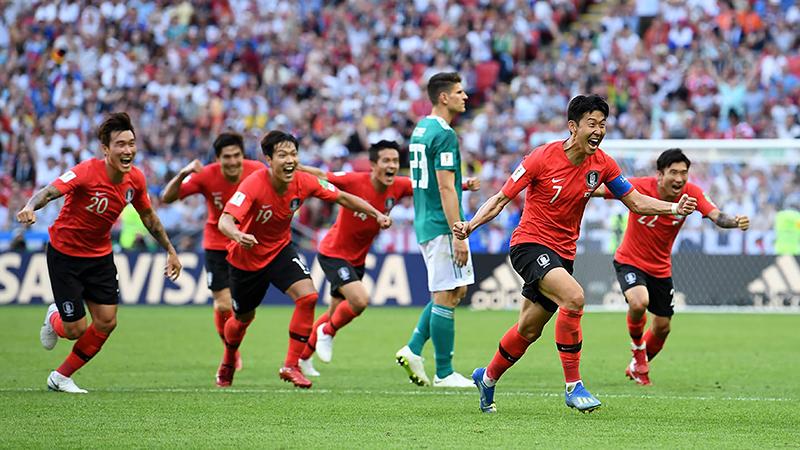 Dù sớm bị loại, tuyển Hàn Quốc đã để lại một ấn tượng mạnh ở World Cup 2018. Ảnh: FIFA