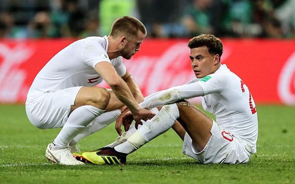 Toàn bộ 23 tuyển thủ Anh ở World Cup 2018 đều thi đấu ở giải quốc nội. Ảnh: Telegraph