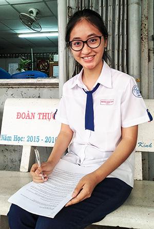 Nguyễn Khánh Ngân. Ảnh: B.NGỌC
