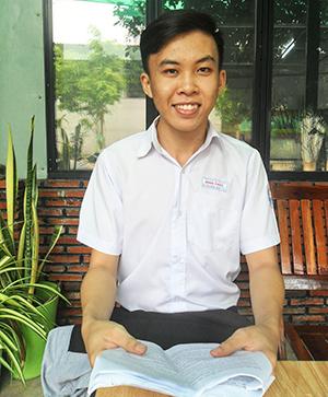 Nguyễn Tân Đông Phát. Ảnh: THU HẰNG