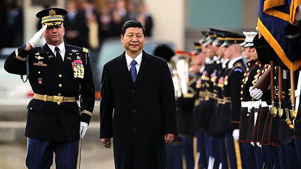 Chủ tịch Trung Quốc Tập Cận Bình trong chuyến thăm Mỹ hồi tháng 4-2017. Ảnh: Daily Beast