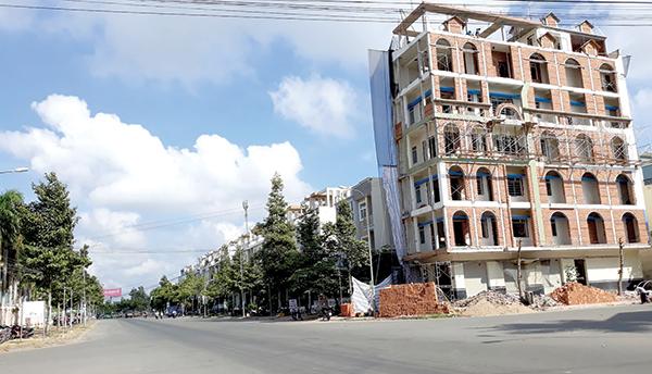 Đất nền khu dân cư Hưng Phú 1, Nam Cần Thơ luôn trong tình trạng thiếu hàng. Ảnh: AN KHÁNH