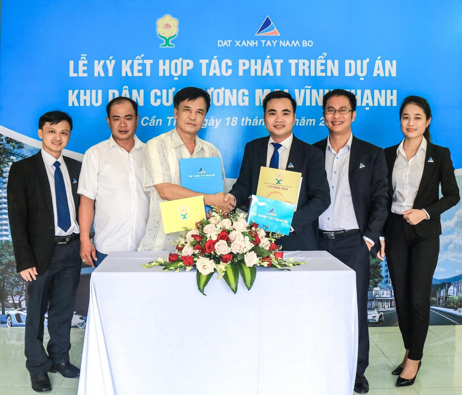 Đất xanh Tây Nam Bộ chính thức trở thành Nhà phát triển Dự án Khu dân cư và Trung tâm thương mại Vĩnh Thạnh