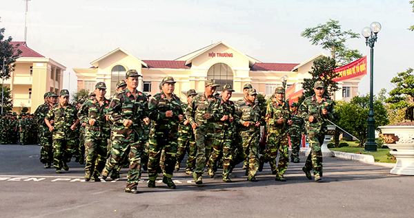 Lực lượng vũ trang TP Cần Thơ tham gia Ngày Chạy thể thao CISM.