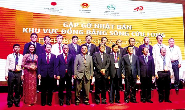 Gặp gỡ Nhật Bản khu vực ĐBSCL đã được tổ chức tại TP Cần Thơ, có nhiều ký kết hợp tác giữa nhà đầu tư Nhật Bản với ĐBSCL.