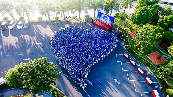 Hơn 3.000 trái tim DHG cùng chung tay vì cộng đồng.