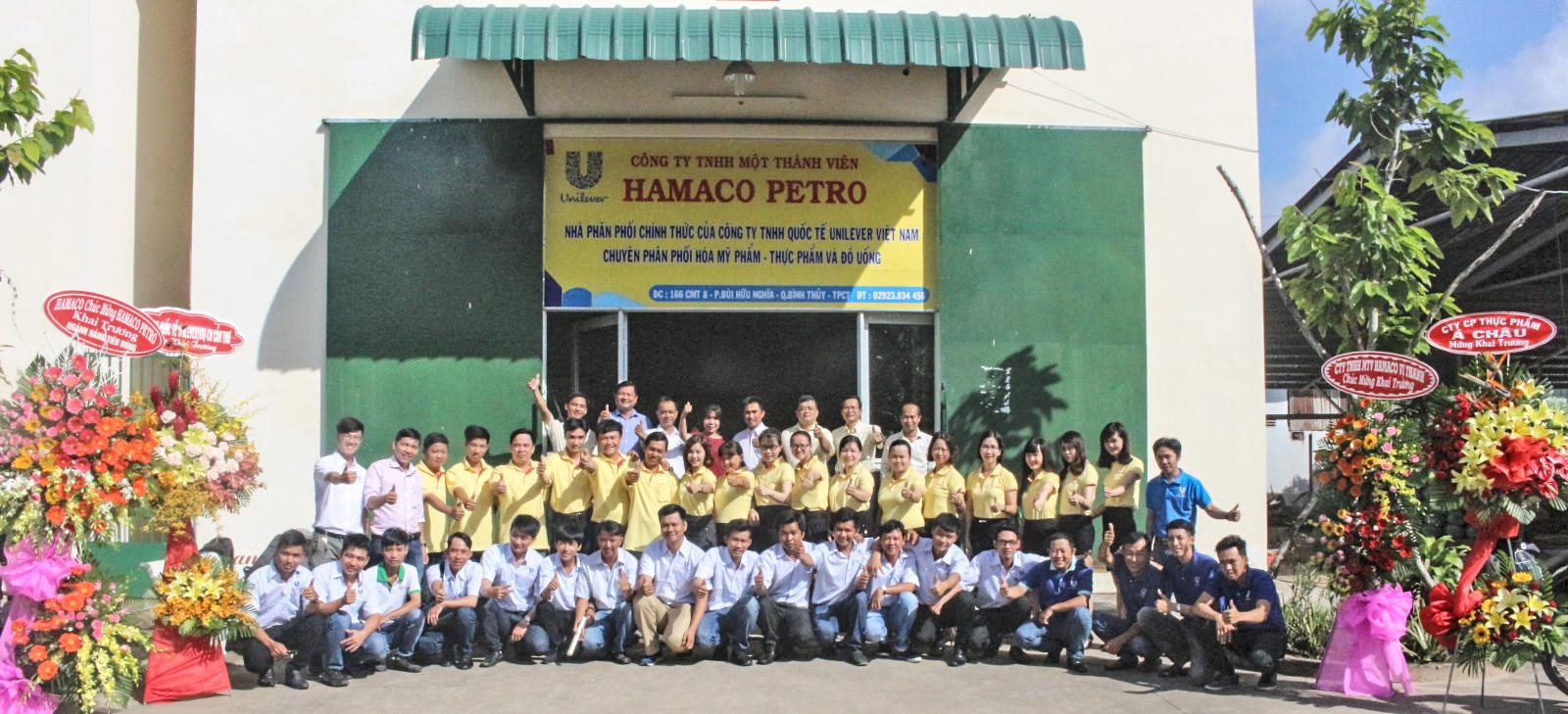 Hamaco Petro khai trương phân phối ngành hàng tiêu dùng tại TP Cần Thơ