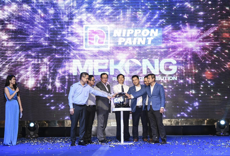 Nippon Paint Việt Nam chọn Mekong Retail & Distribution là nhà phân phối độc quyền khu vực ĐBSCL