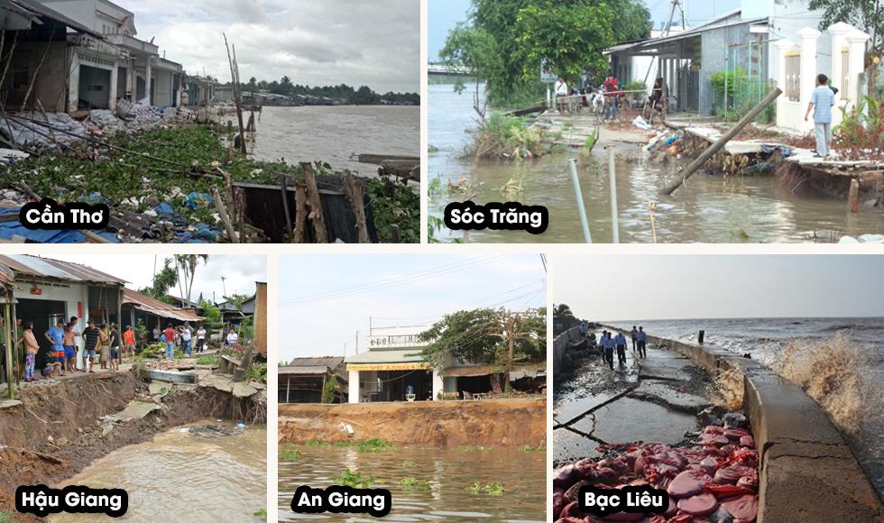 Longform: Ứng phó biến đổi khí hậu tại ĐBSCL