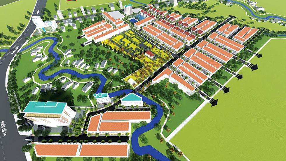 Ra quân giới thiệu dự án Tây Đô Ecopark