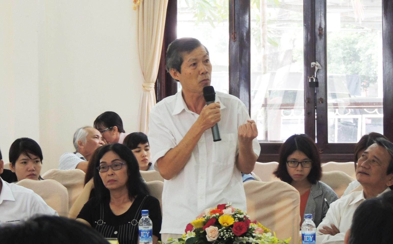 Ông Trần Chí Gia, Giám đốc Công ty CP May Meko.