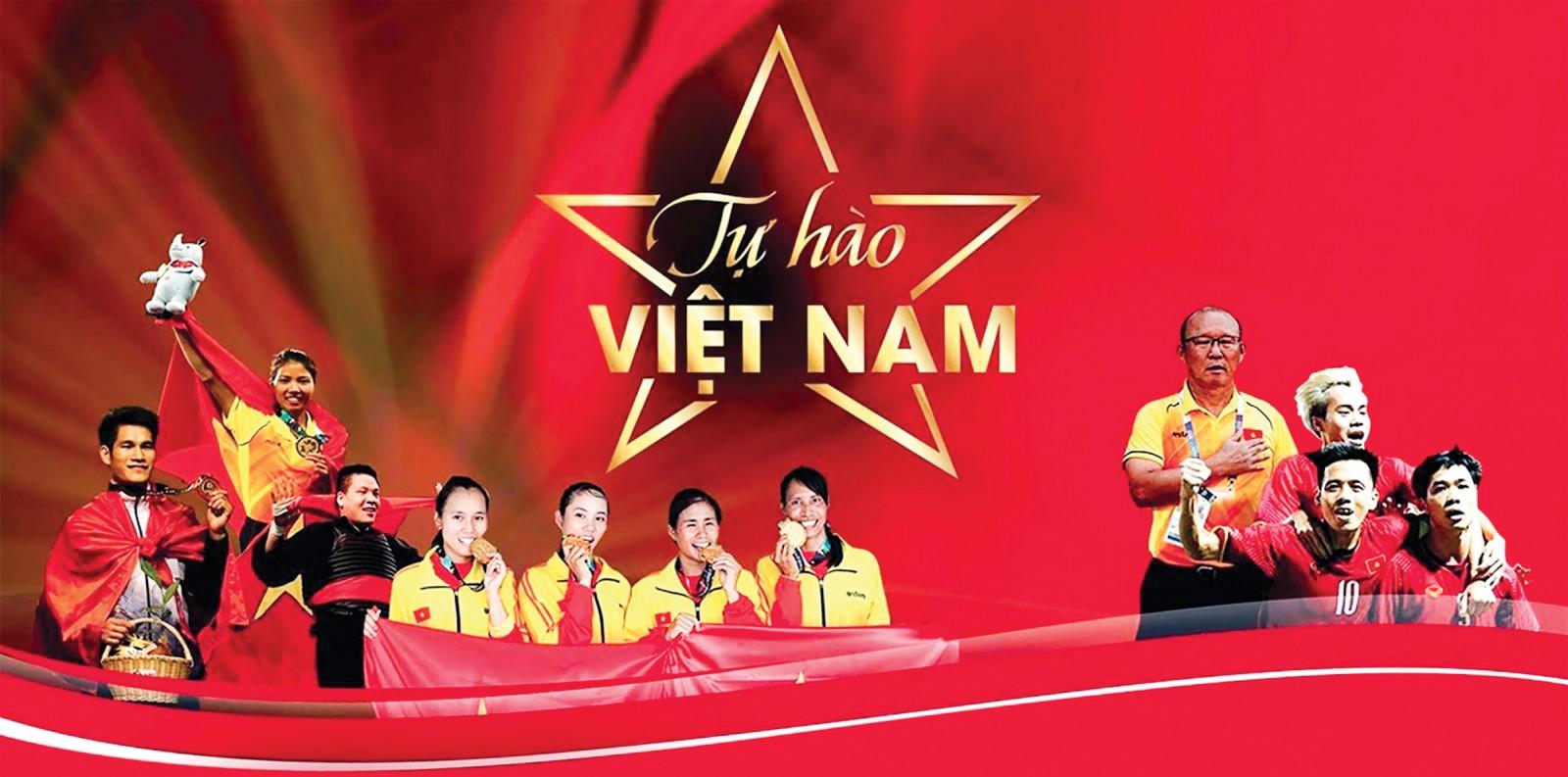 Những VĐV đoạt HCV tại Asiad và những gương mặt tiêu biểu đội Olympic Việt Nam (phải). Ảnh: VOV