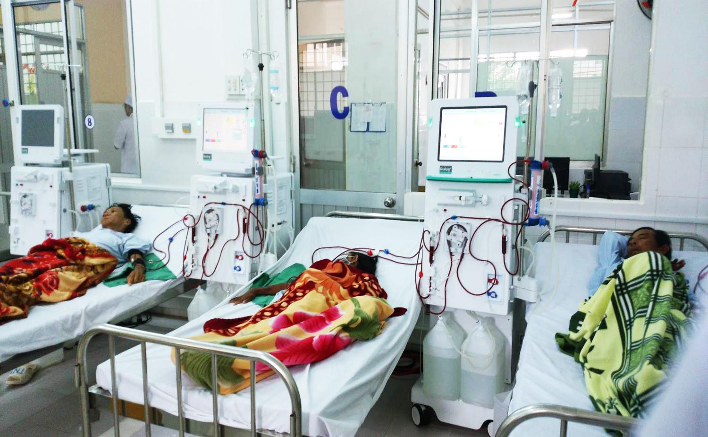 Bệnh viện Đa khoa quận Ô Môn triển khai các dịch vụ kỹ thuật mới. Ảnh: CHẤN HƯNG