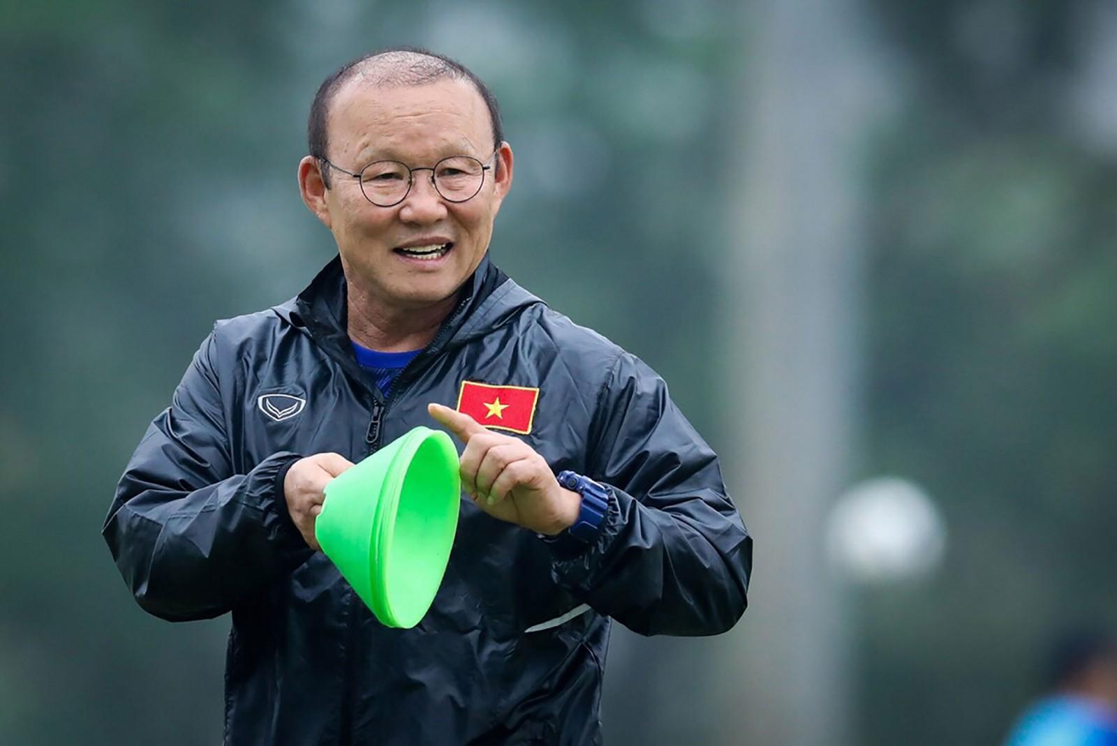 Ông Park nhận nhiều nhiệm vụ quan trọng trong năm với một sức ép lớn. Ảnh: ANH HUY