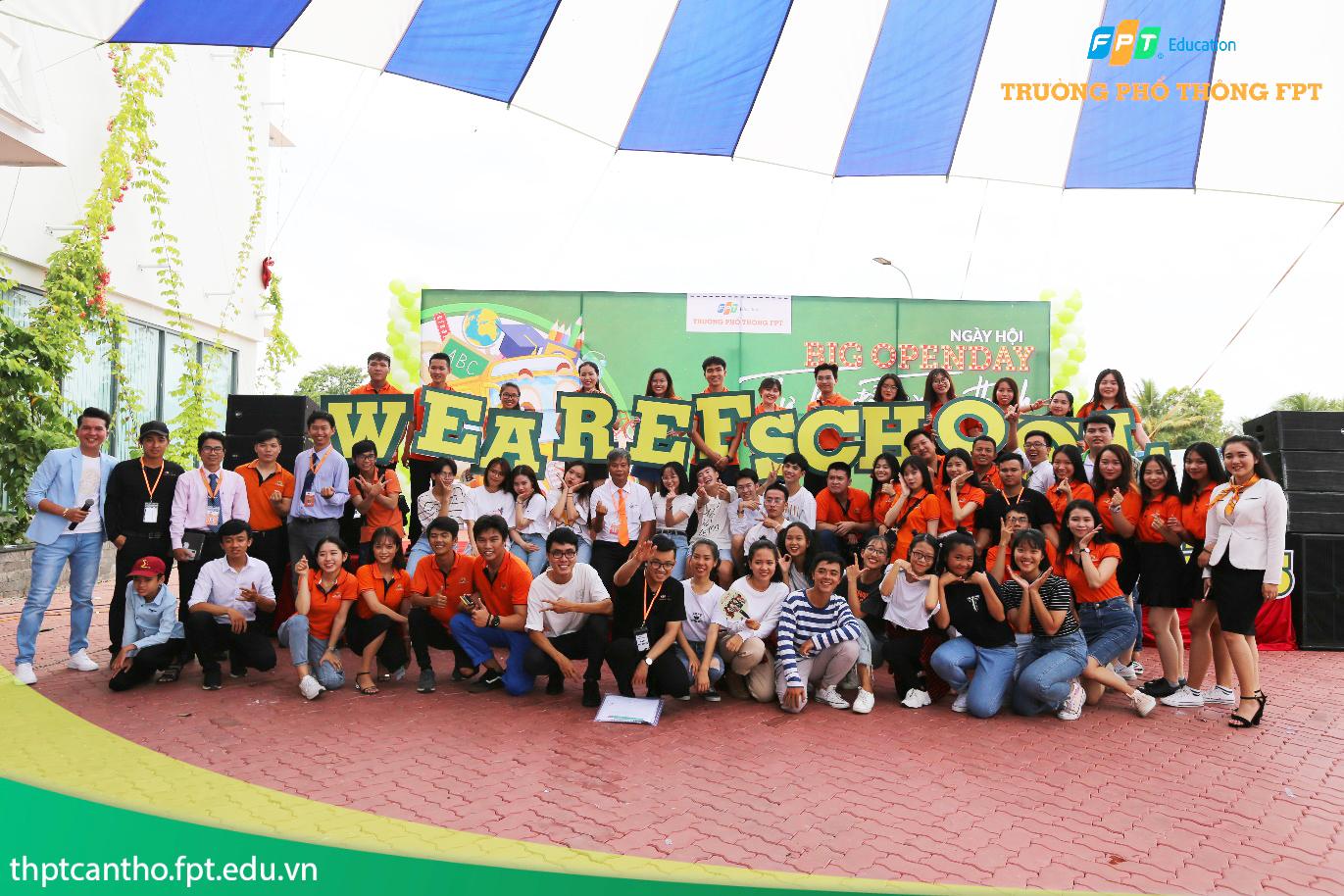 THPT FPT Cần Thơ tổ chức Big Open Day đầu tiên dành cho học sinh THCS tại khu vực Đồng bằng sông Cửu Long