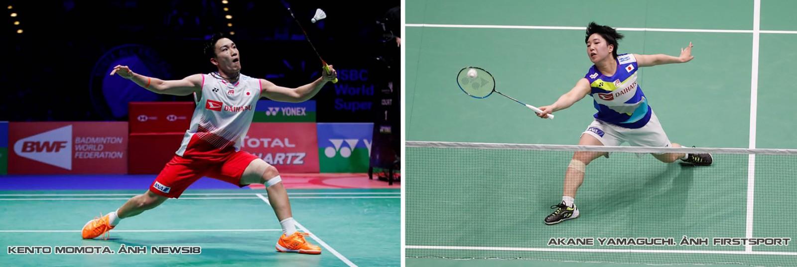 Hai tay vợt Nhật Bản đã xuất sắc giành Huy chương Vàng châu Á nội dung đơn.