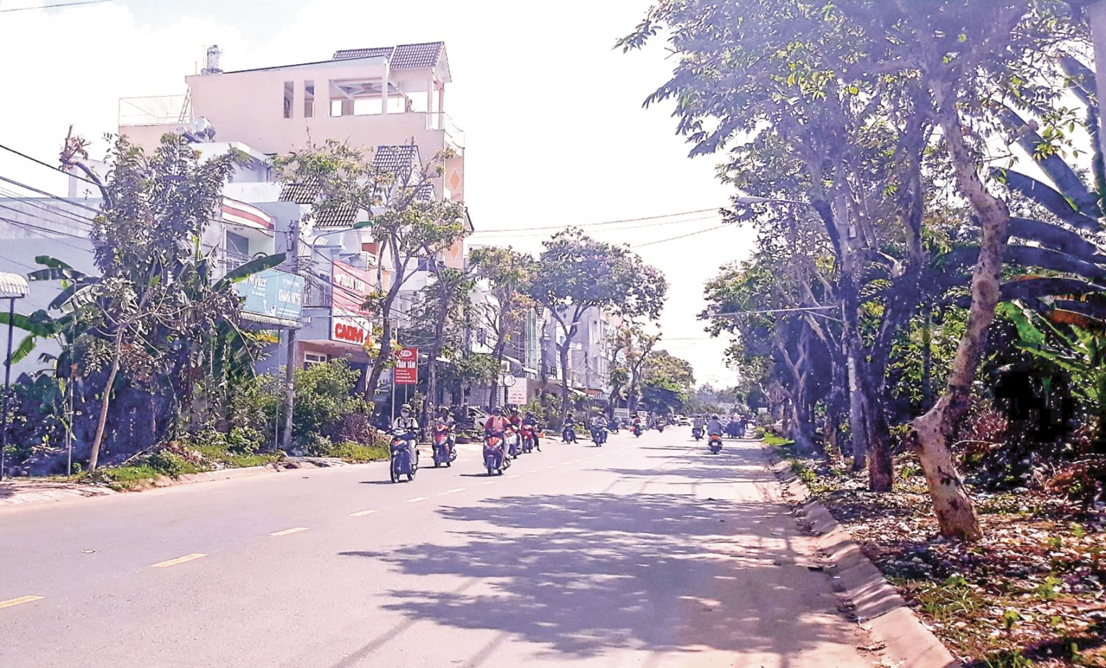 Một góc Khu dân cư Thới Nhựt, phường An Khánh, quận Ninh Kiều.