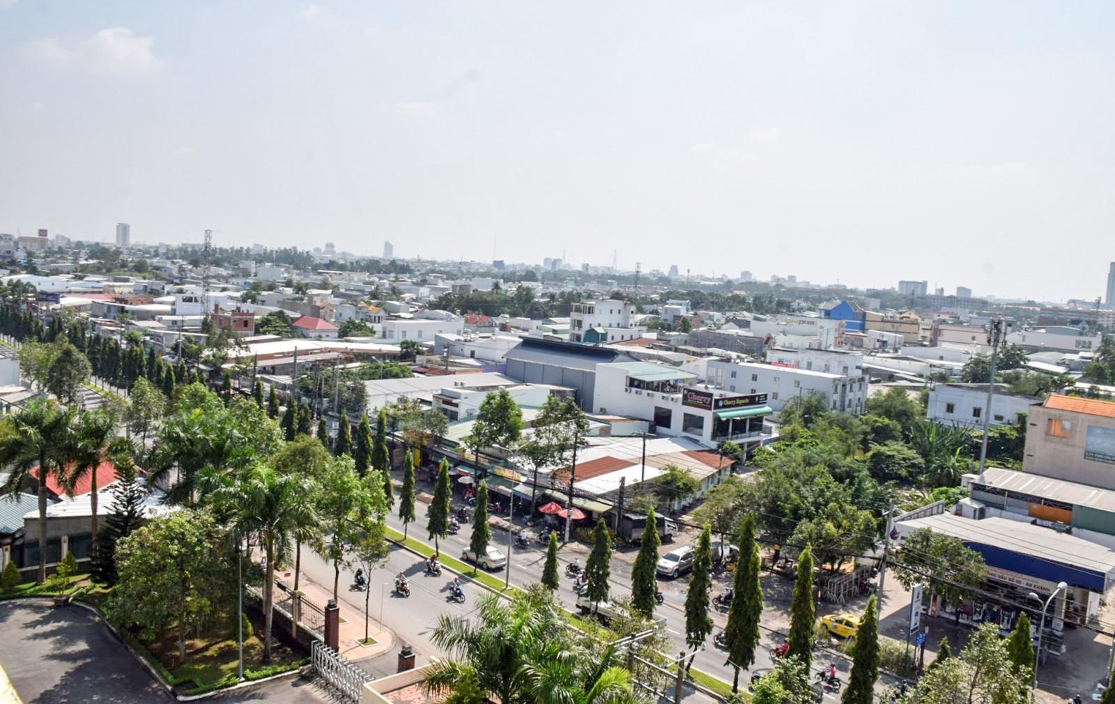 Quản lý hiệu quả đất đai, góp phần phát triển kinh tế - xã hội thành phố. Trong ảnh: Một góc đô thị Cần Thơ. Ảnh: T. TRINH