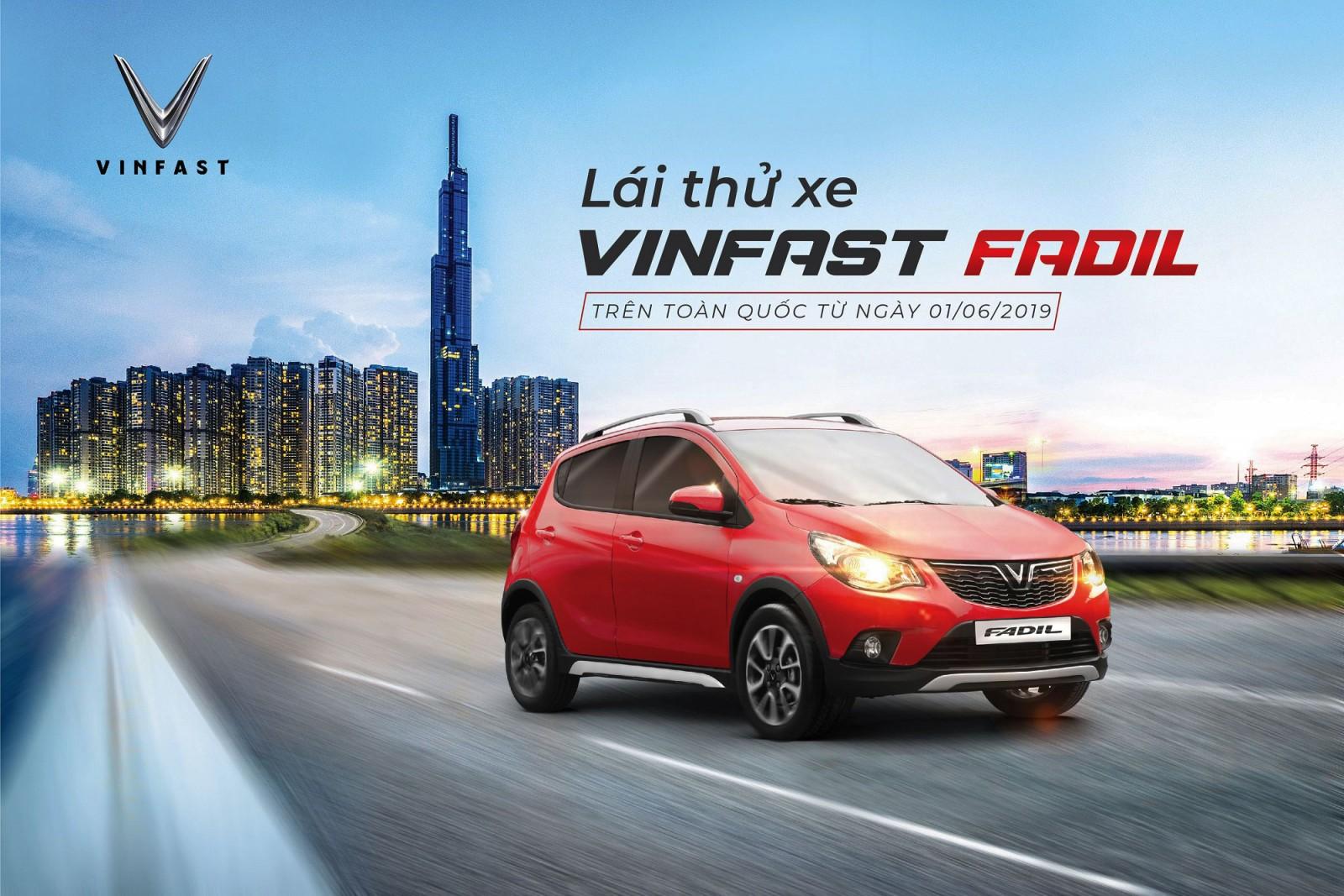 VinFast tổ chức chương trình lái thử xe Fadil trên toàn quốc từ ngày 1/6/2019