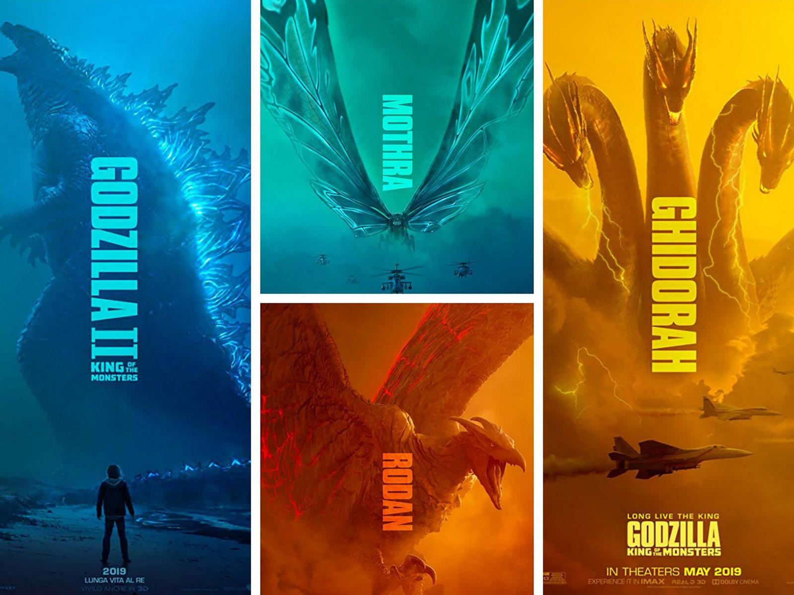 4 quái vật ấn tượng trong phim.
