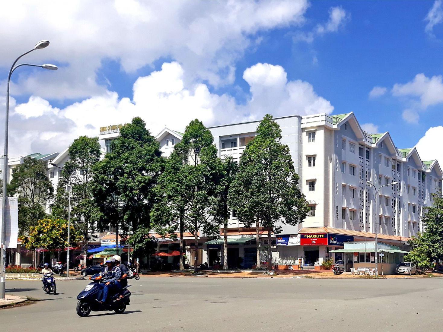 Một góc khu đô thị Hưng Phú, quận Cái Răng. Ảnh: THANH ĐÌNH