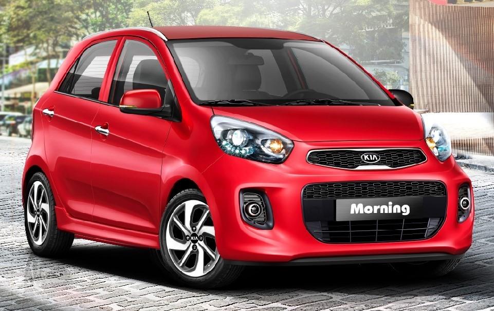Mẫu xe Kia Morning với thiết kế nhỏ gọn, giá cạnh tranh trong phân khúc A.
