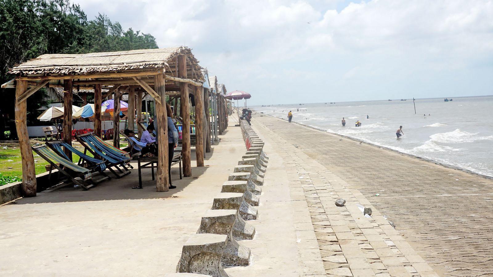 Bãi biển Ba Động.