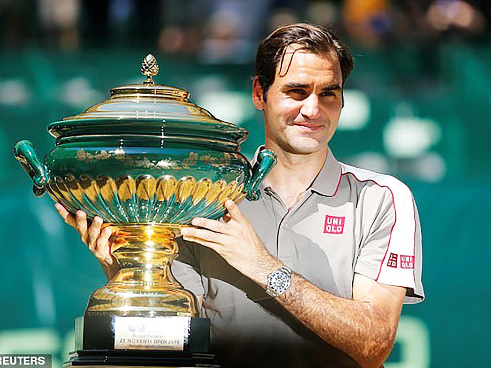 Federer vô địch Halle Open.