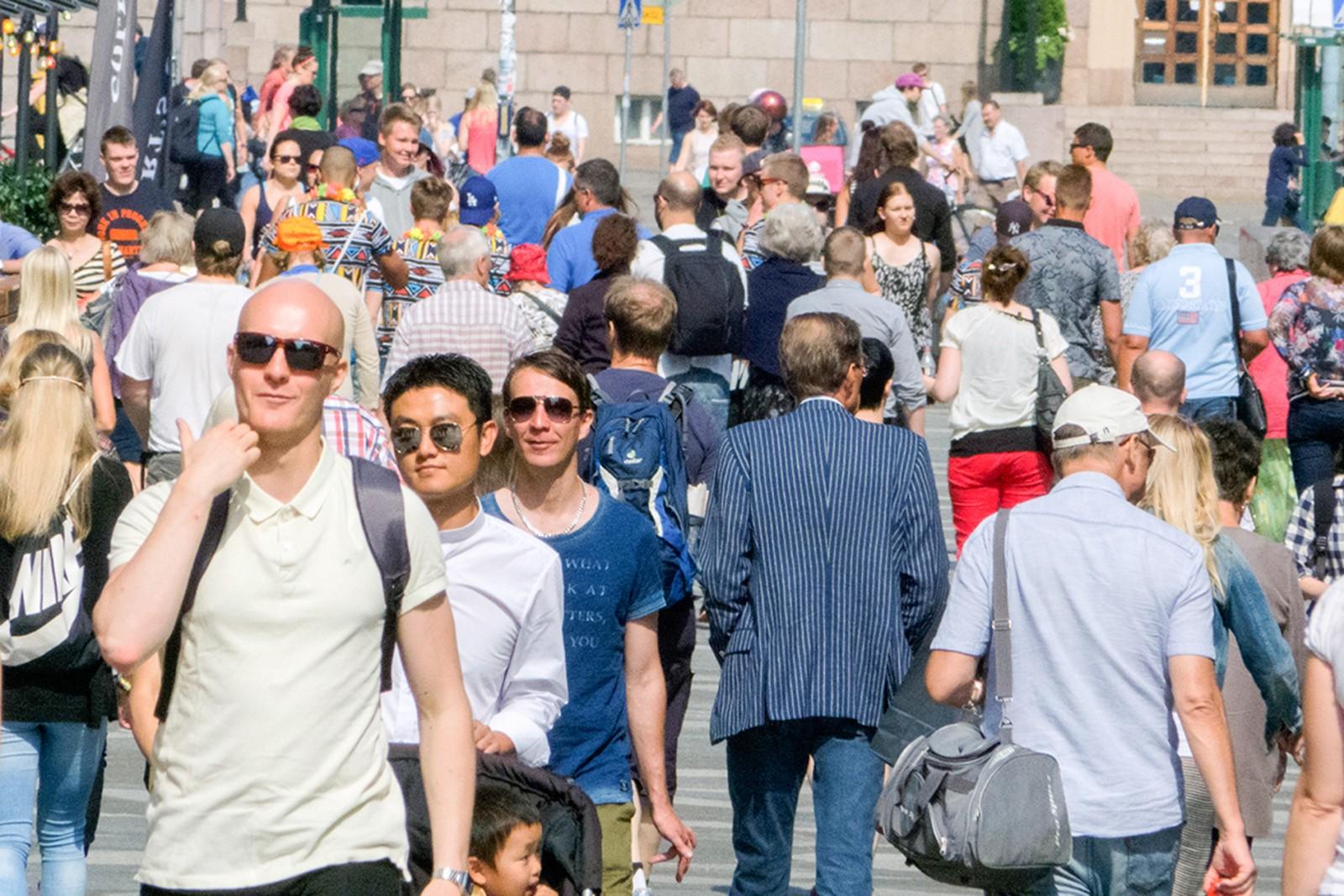 Người dân Phần Lan ở Thủ đô Helsinki - trung tâm khởi nghiệp của châu Âu. Ảnh: helsinkismart.fi