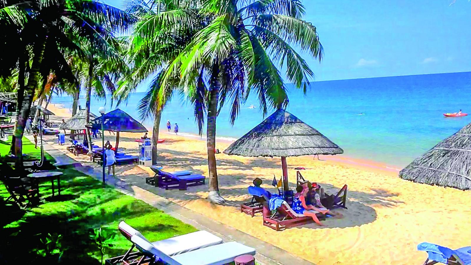 Phú Quốc điểm đến nổi tiếng tỉnh Kiên Giang.