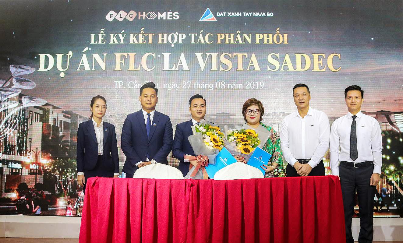 FLC Homes và Đất Xanh Tây Nam Bộ ký kết hợp tác phân phối dự án FLC La Vista Sadec.