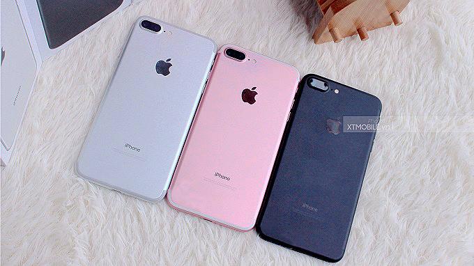 iPhone 7 Plus sở hữu thiết kế sang trọng, bắt mắt