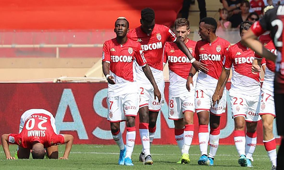 Monaco là á quân Ligue 1 mùa giải 2017-2018. Ảnh: AFP