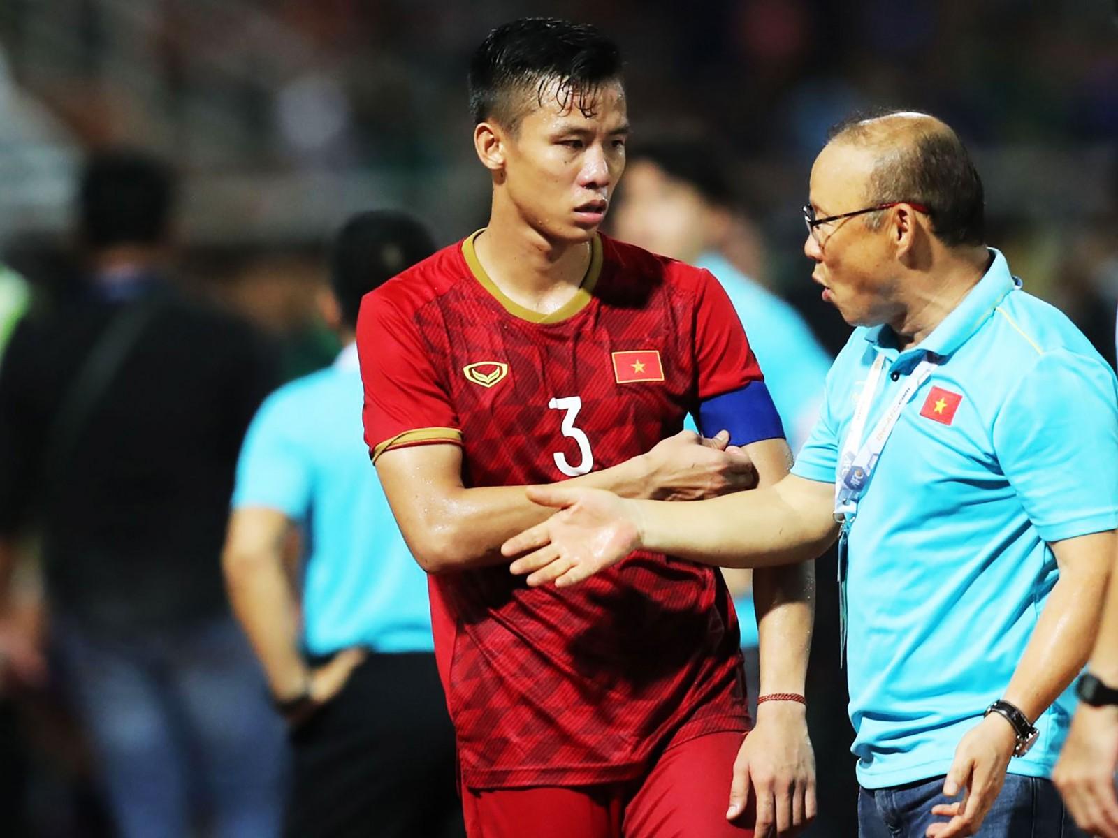 Ông Park thẳng thắn nhìn nhận Việt Nam hòa trên đất Thái có phần may mắn. Ảnh: ANH HUY