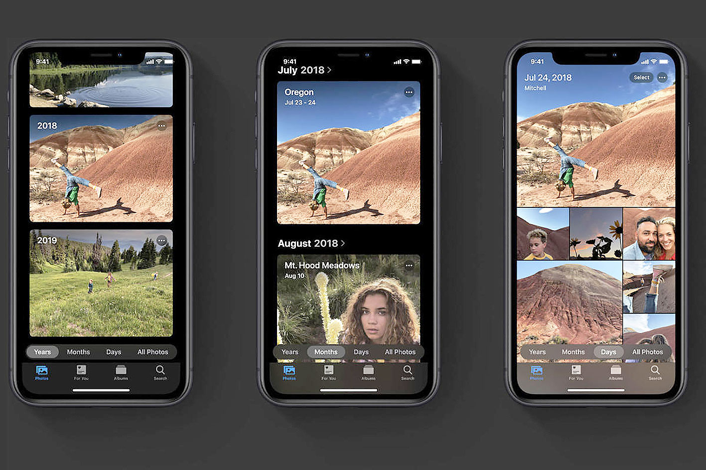 Ứng dụng ảnh với nhiều tính năng mới trên iOS 13.
